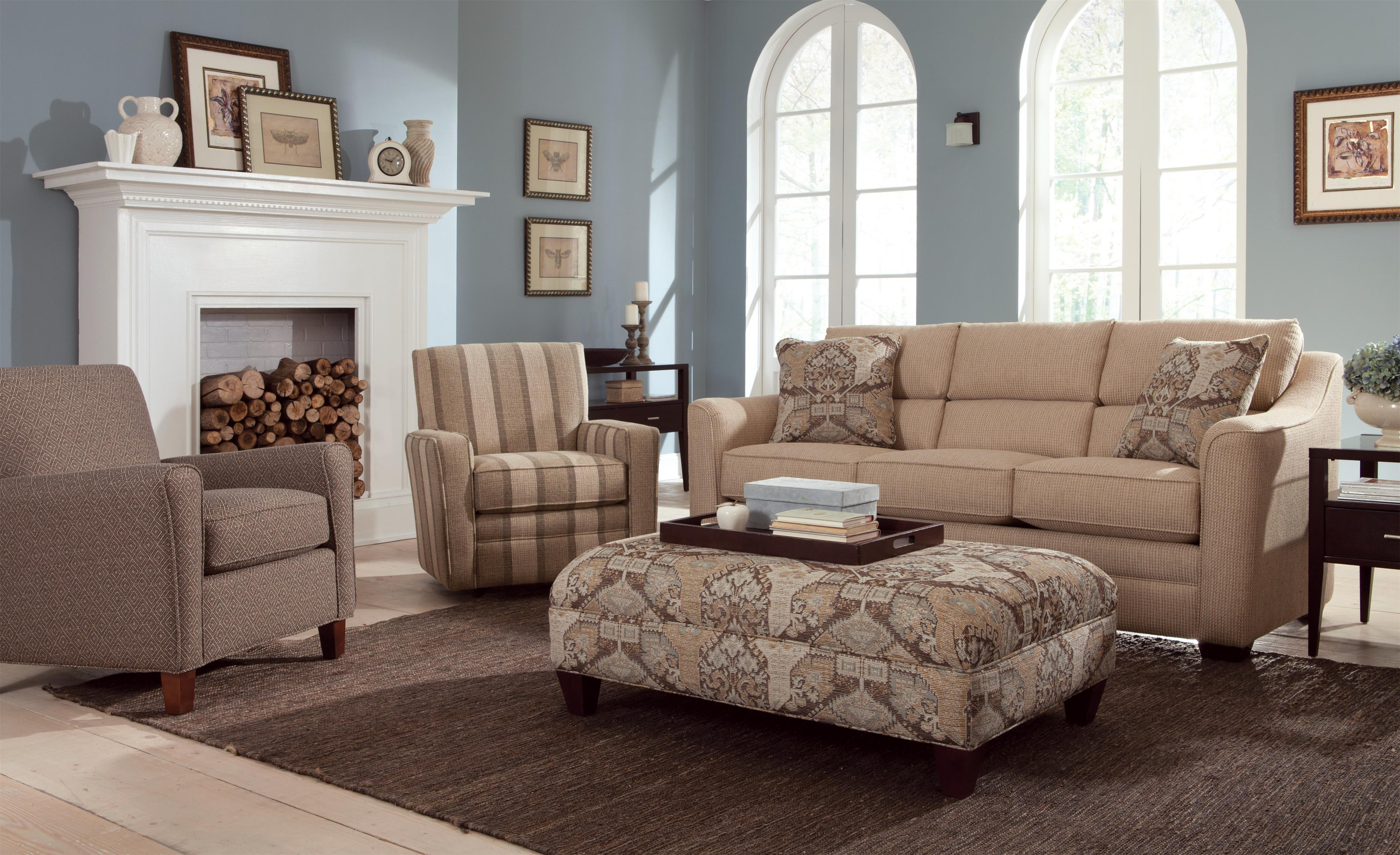 Craftmaster Accent Chairs Contemporary Accent Chair With