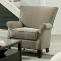 Craftmaster Accent Chairs Contemporary Upholstered Chair - Item Number: 061310-CULLEN-08
