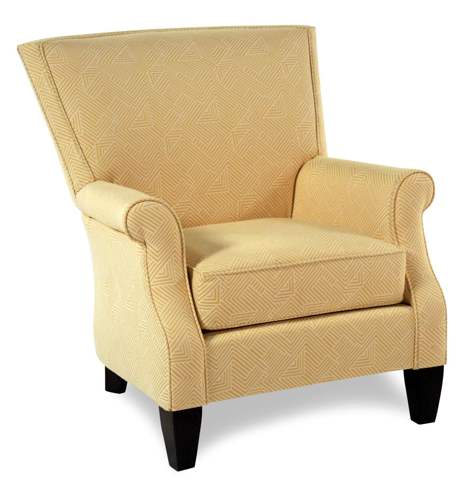 Cozy Life Accent Chairs Contemporary Upholstered Chair - Item Number: 061310-MAZEFOLD02