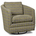 Craftmaster Accent Chairs Swivel Chair - Item Number: 063710SC-BACK TRACK-22