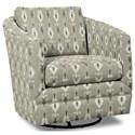 Craftmaster Accent Chairs Swivel Chair - Item Number: 063710SC-BALLARI-41