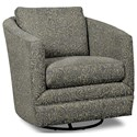 Craftmaster Accent Chairs Swivel Chair - Item Number: 063710SC-BATIKI-23