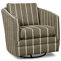 Craftmaster Accent Chairs Swivel Chair - Item Number: 063710SC-BELLEVUE-41