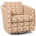 Craftmaster Accent Chairs Swivel Chair - Item Number: 063710SC-BENSALEM-10