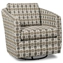 Craftmaster Accent Chairs Swivel Chair - Item Number: 063710SC-BLAST-08
