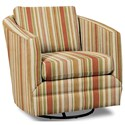 Craftmaster Accent Chairs Swivel Chair - Item Number: 063710SC-BOBCAT-16