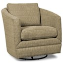 Craftmaster Accent Chairs Swivel Chair - Item Number: 063710SC-BREAKOUT-10
