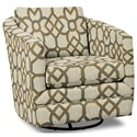 Craftmaster Accent Chairs Swivel Chair - Item Number: 063710SC-CARREAU-07