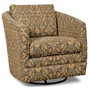 Craftmaster Accent Chairs Swivel Chair - Item Number: 063710SC-CEASAR-09