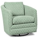 Craftmaster Accent Chairs Swivel Chair - Item Number: 063710SC-CURVY-21