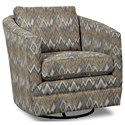 Craftmaster Accent Chairs Swivel Chair - Item Number: 063710SC-DANCER-08