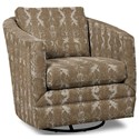 Craftmaster Accent Chairs Swivel Chair - Item Number: 063710SC-DARTING-09