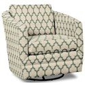 Craftmaster Accent Chairs Swivel Chair - Item Number: 063710SC-DASHER-21