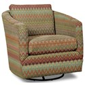 Craftmaster Accent Chairs Swivel Chair - Item Number: 063710SC-DESANTIS-26