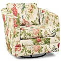 Craftmaster Accent Chairs Swivel Chair - Item Number: 063710SC-EMMA-25