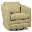 Craftmaster Accent Chairs Swivel Chair - Item Number: 063710SC-FACET-10