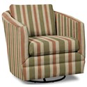 Craftmaster Accent Chairs Swivel Chair - Item Number: 063710SC-FIELDING-16