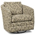 Craftmaster Accent Chairs Swivel Chair - Item Number: 063710SC-FUN TREE-41