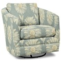 Craftmaster Accent Chairs Swivel Chair - Item Number: 063710SC-GERBERA-21