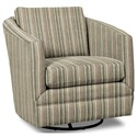 Craftmaster Accent Chairs Swivel Chair - Item Number: 063710SC-HAMPSTEAD-21