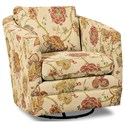 Craftmaster Accent Chairs Swivel Chair - Item Number: 063710SC-JUBILANT-02