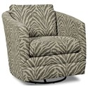 Craftmaster Accent Chairs Swivel Chair - Item Number: 063710SC-KENYA-41
