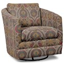 Craftmaster Accent Chairs Swivel Chair - Item Number: 063710SC-KITSUNE-10