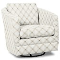 Craftmaster Accent Chairs Swivel Chair - Item Number: 063710SC-LISBOA-31