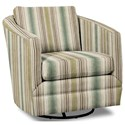Craftmaster Accent Chairs Swivel Chair - Item Number: 063710SC-LISMORE-15