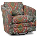 Craftmaster Accent Chairs Swivel Chair - Item Number: 063710SC-LONGROCK-23