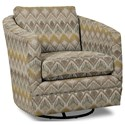 Craftmaster Accent Chairs Swivel Chair - Item Number: 063710SC-LOZADA-21
