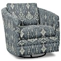 Craftmaster Accent Chairs Swivel Chair - Item Number: 063710SC-MAKATE-23