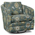 Craftmaster Accent Chairs Swivel Chair - Item Number: 063710SC-MAYFLOWER-22