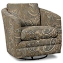Craftmaster Accent Chairs Swivel Chair - Item Number: 063710SC-MIX IT UP-45