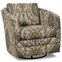 Craftmaster Accent Chairs Swivel Chair - Item Number: 063710SC-NOTTINGHAM-09