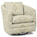 Craftmaster Accent Chairs Swivel Chair - Item Number: 063710SC-PEACEFUL-21