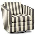 Craftmaster Accent Chairs Swivel Chair - Item Number: 063710SC-PORTERO-45