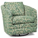Craftmaster Accent Chairs Swivel Chair - Item Number: 063710SC-RUSTICA-21