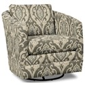 Craftmaster Accent Chairs Swivel Chair - Item Number: 063710SC-SURI-41