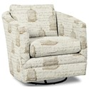 Craftmaster Accent Chairs Swivel Chair - Item Number: 063710SC-SYLVESTER-21
