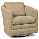 Craftmaster Accent Chairs Swivel Chair - Item Number: 063710SC-TAJ MAHAL-11
