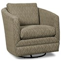 Craftmaster Accent Chairs Swivel Chair - Item Number: 063710SC-TIBESTI-21