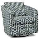 Craftmaster Accent Chairs Swivel Chair - Item Number: 063710SC-TRIDENT-23