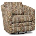 Craftmaster Accent Chairs Swivel Chair - Item Number: 063710SC-WALLACE-10