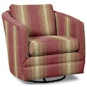 Craftmaster Accent Chairs Swivel Chair - Item Number: 063710SC-WEIMAR-26