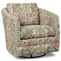 Craftmaster Accent Chairs Swivel Chair - Item Number: 063710SC-WILLIAM-10