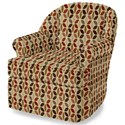 Craftmaster Accent Chairs Upholstered Chair - Item Number: 087010SC-KALENA-26