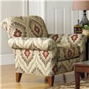 Cozy Life Accent Chairs Contemporary Chair - Item Number: 099510-HARLEQUIN-07