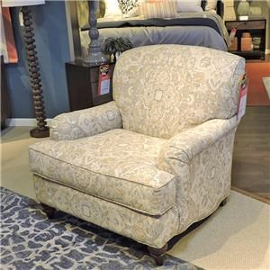 English Arm Chair with Deep Seat