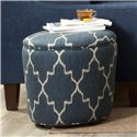 Cozy Life Accent Ottomans Accent Ottoman - Item Number: 021200-BANOAK-23